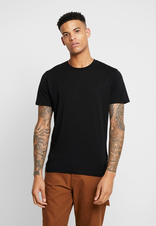 THE ORGANIC TEE BASIC - T-shirt basic - black