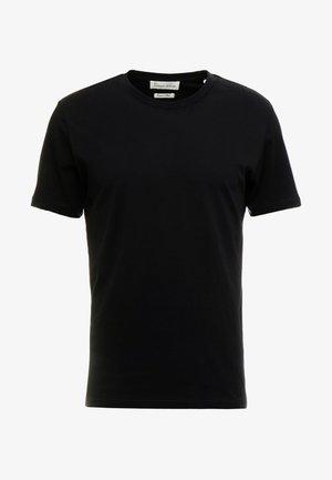 THE ORGANIC TEE BASIC - Jednoduché triko - black
