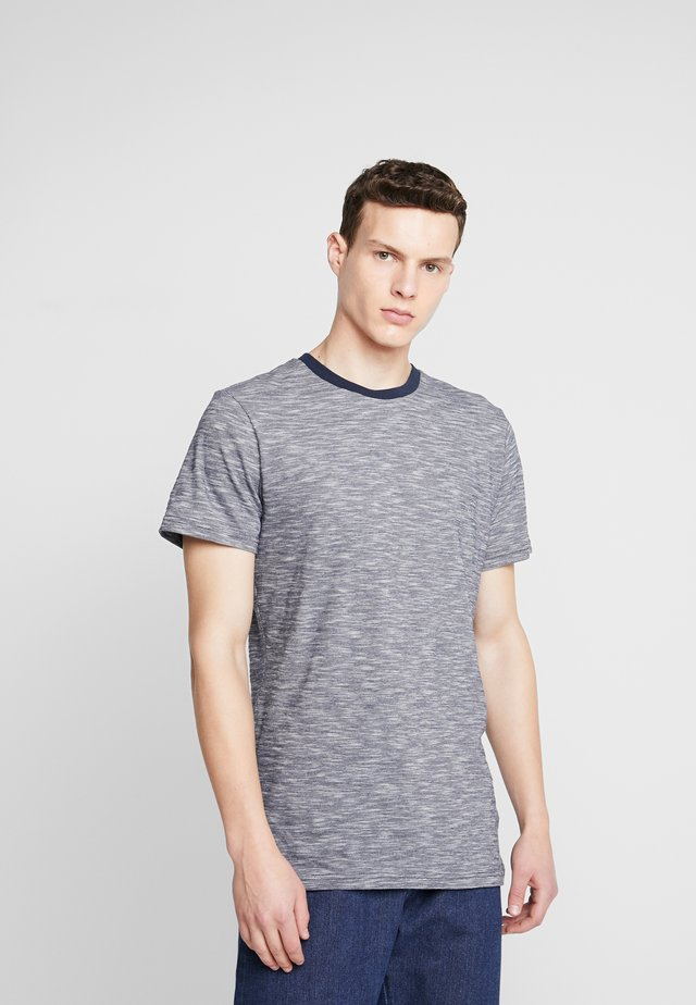 THE ORGANIC SPORTY TEE - T-Shirt basic - navy blazer
