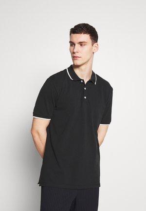 STEFAN - Polo - black