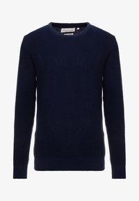 BY GARMENT MAKERS - THE ORGANIC - Strickpullover - dark blue - 4