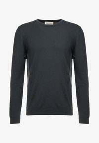 BY GARMENT MAKERS - THE MERINO KNIT ORGANIC - Strickpullover - grey - 3