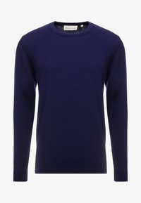 BY GARMENT MAKERS - THE MERINO KNIT ORGANIC - Strickpullover - dark blue - 3