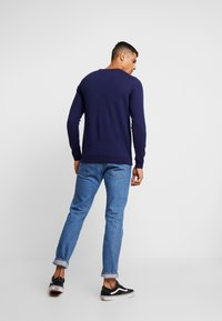 BY GARMENT MAKERS - THE MERINO KNIT ORGANIC - Strickpullover - dark blue - 2
