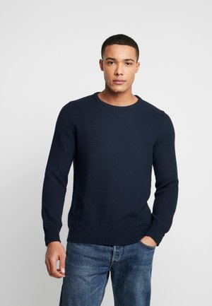 THE WAFFLE  - Pullover - navy blazer