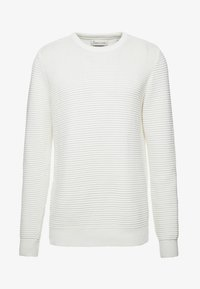 BY GARMENT MAKERS - THE ORGANIC PLAIN - Pullover - marshmallow - 4