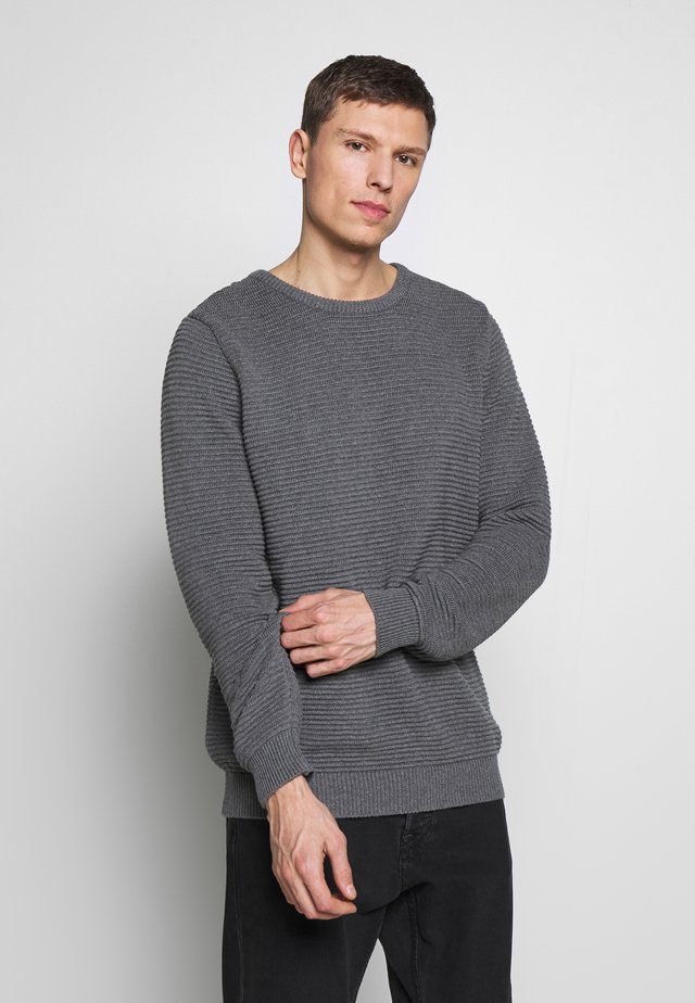 THE ORGANIC PLAIN - Sweter - light grey