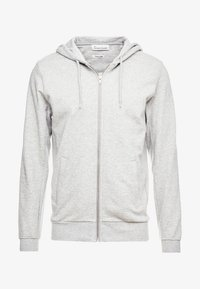 BY GARMENT MAKERS - THE ORGANIC HOODY - Mikina na zip - grey - 4