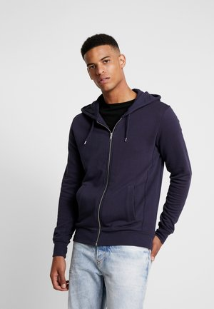 THE ORGANIC HOODY - Bluza rozpinana - dark blue