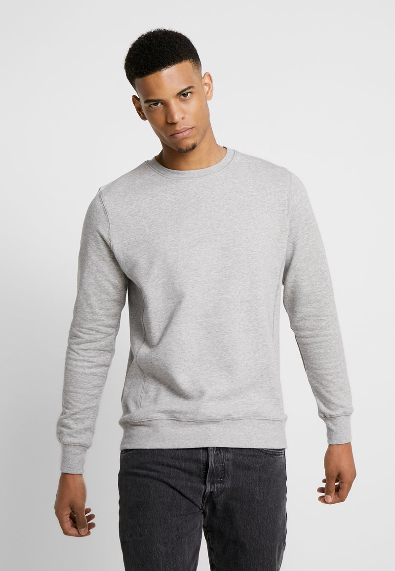 BY GARMENT MAKERS - THE ORGANIC LOOSE FIT - Sweatshirts - grey