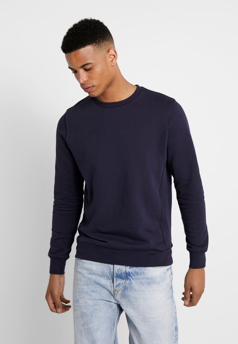 BY GARMENT MAKERS - THE ORGANIC LOOSE FIT - Sweater - dark blue
