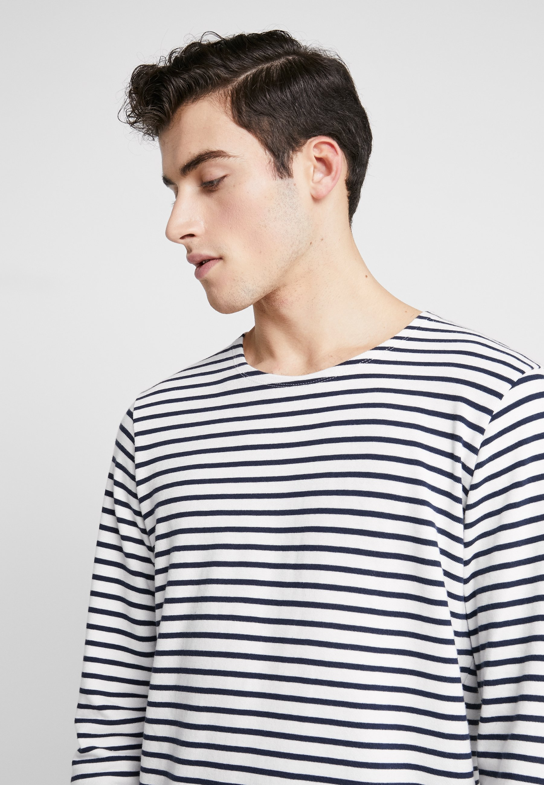 BY GARMENT MAKERS THE ORGANIC STRIPED - Maglione - marshmallow