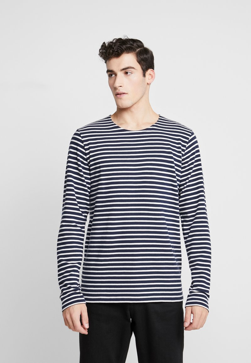 BY GARMENT MAKERS - THE ORGANIC STRIPED - Maglione - navy blazer
