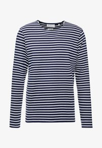 BY GARMENT MAKERS - THE ORGANIC STRIPED - Maglione - navy blazer - 3