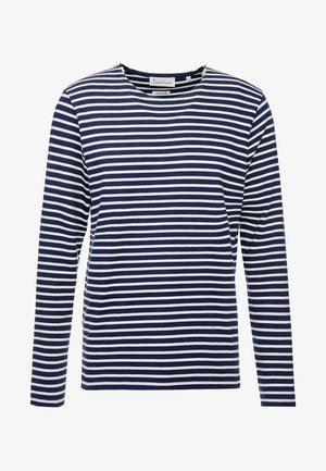 THE ORGANIC STRIPED - Pullover - navy blazer