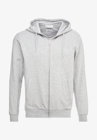 BY GARMENT MAKERS - THE ORGANIC HOODIE - Collegetakki - light grey - 4