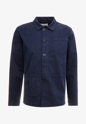 THE ORGANIC WORKWEAR JACKET - Lehká bunda - navy blazer