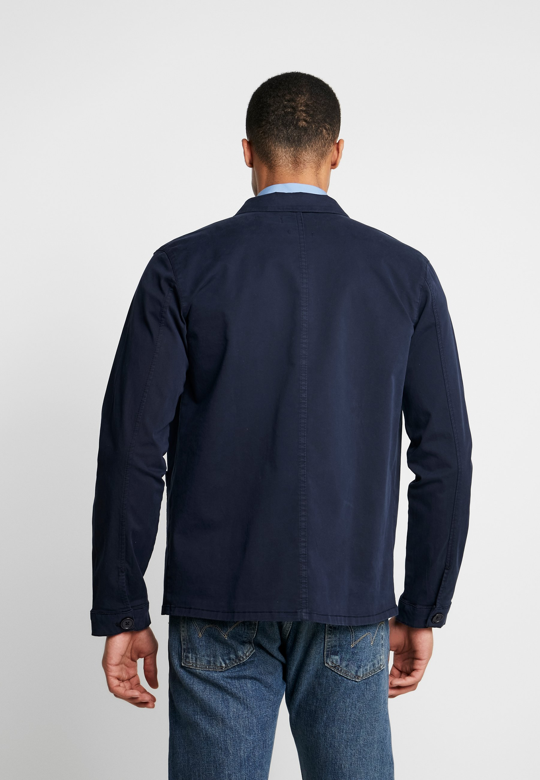 THE ORGANIC WORKWEAR JACKET Korte jassen navy blazer