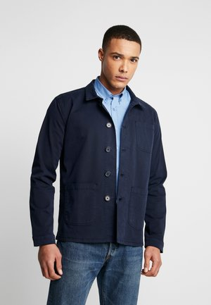 THE ORGANIC WORKWEAR JACKET - Lehká bunda - navy blazer