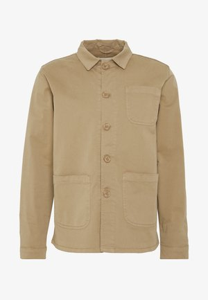 THE ORGANIC WORKWEAR JACKET - Korte jassen - camel