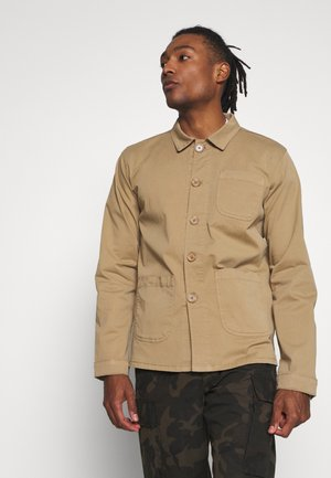 THE ORGANIC WORKWEAR JACKET - Summer jacket - camel