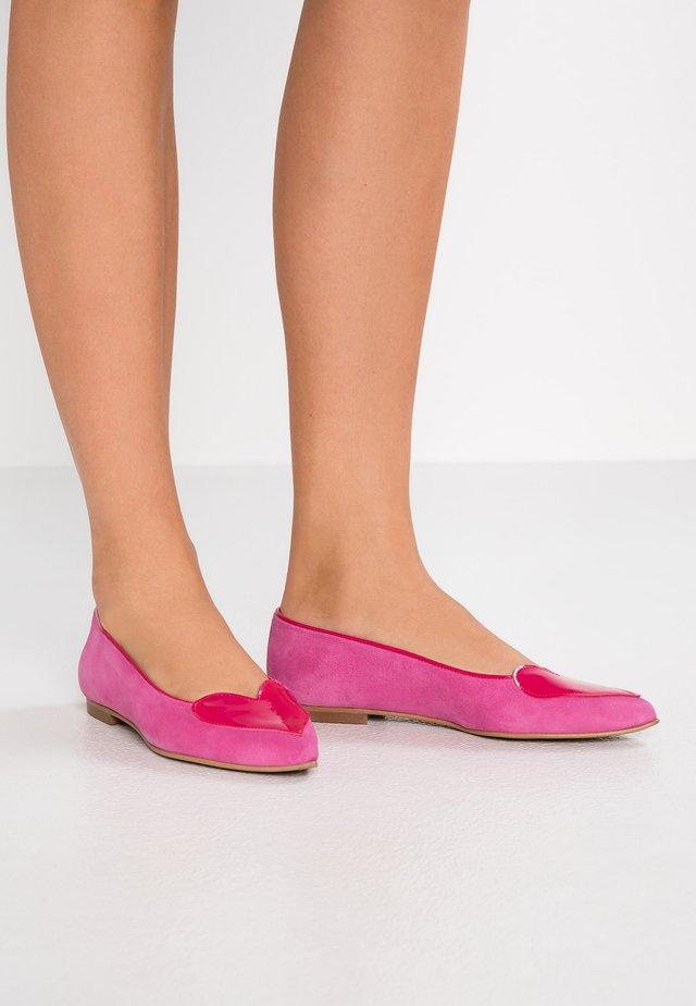 LUNA - Ballet pumps - bogor/fuchsia