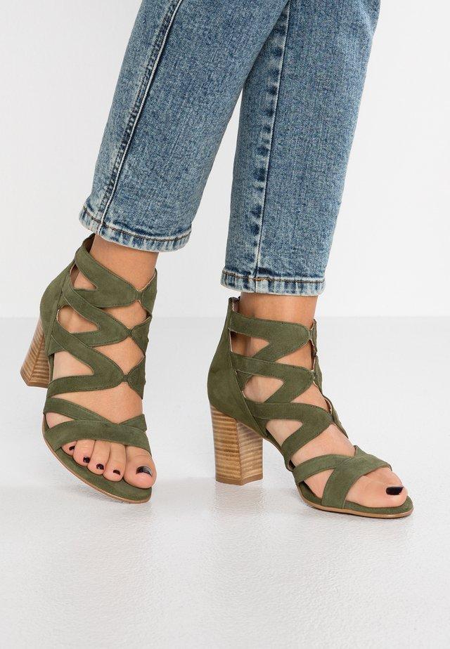 PORTU - Sandals - alga