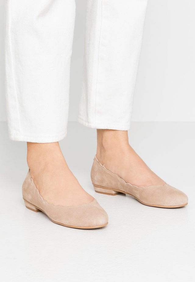CARLA - Ballet pumps -  piedra