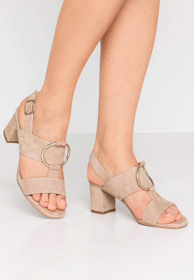 POLAR NEW - Sandals - piedra