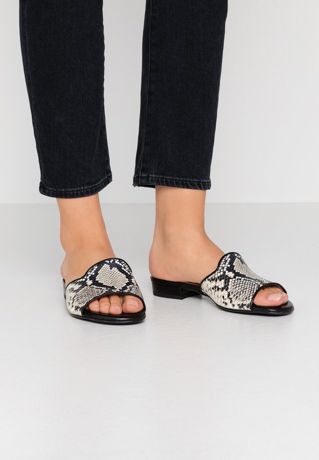 MILAN - Pantofle - black