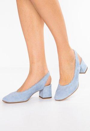 TOPP - Classic heels - blue fog