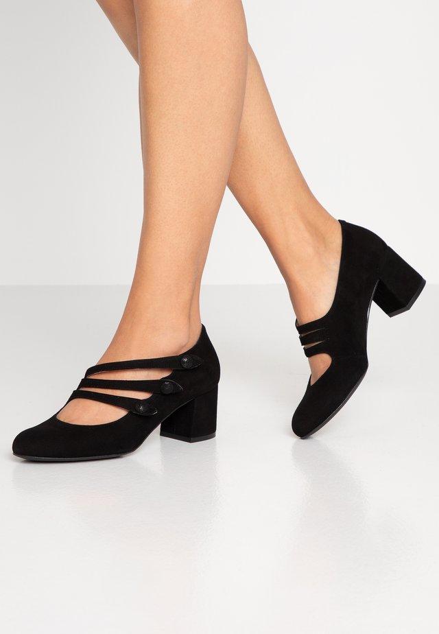 LAOSPAT - Classic heels - black/samba black