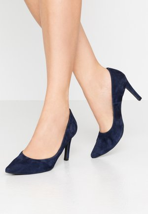 INES - High heels - blue navy