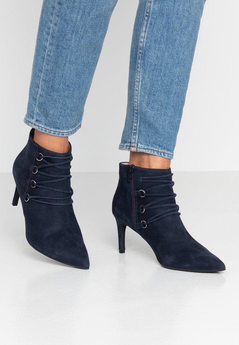 Brenda Zaro - AFRICABO - Ankle Boot - blue navy