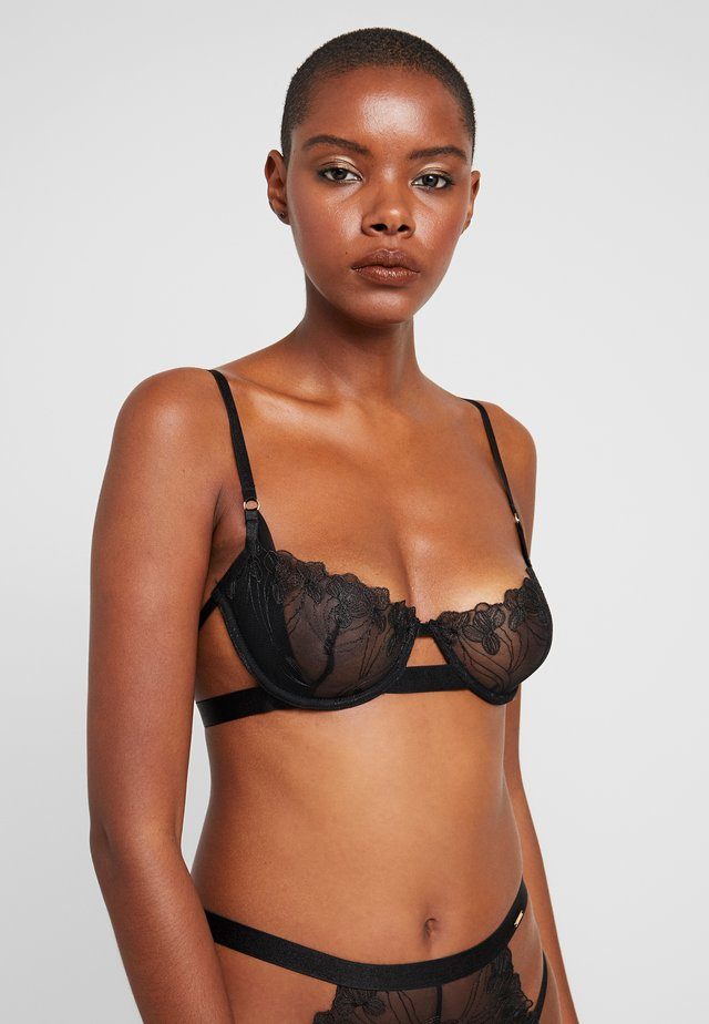 LARK BRA - Underwired bra - black