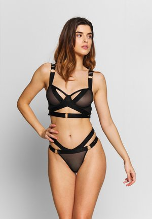 RANI BRA - Underwired bra - black