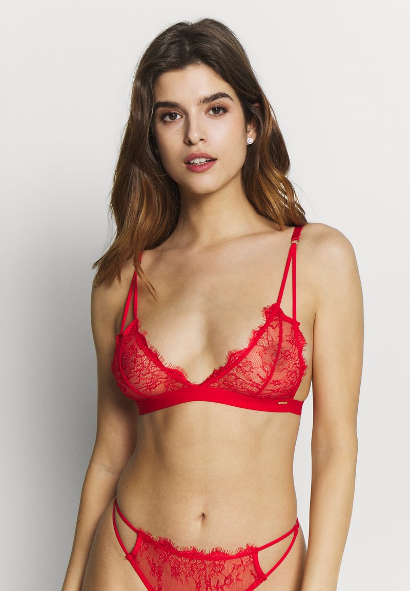 BlueBella - LYRA SOFT BRA - Trekants-bh'er - red