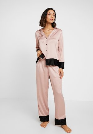 DREW SET - Pyjama set - rose dust/black