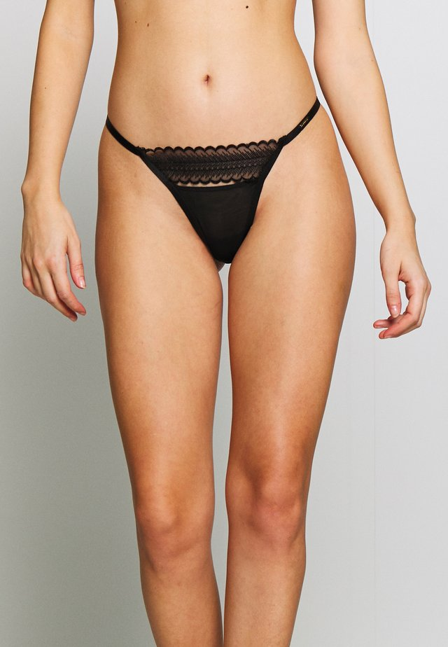 ORNELLA THONG - String - black
