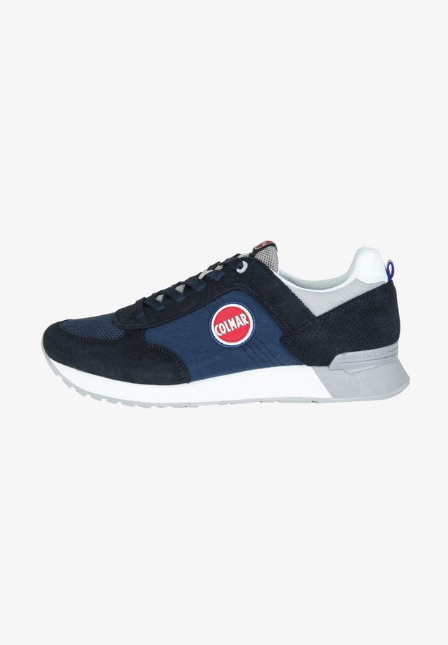 TRAVIS COLORS - Baskets basses - navy/grey