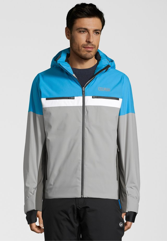 GREENLAND - Down jacket - grey/aqua