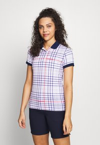 Colmar - PERSONALITY - Poloshirts - barley pink/prussian blue/red - 0