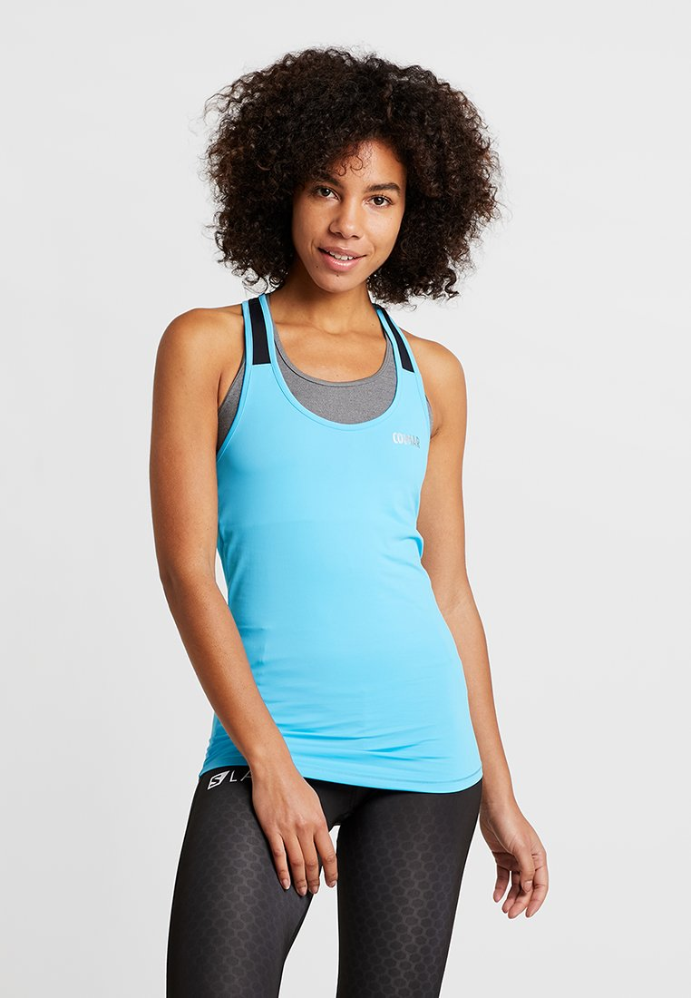 Colmar - ZONE TOP - T-shirt de sport - light blue