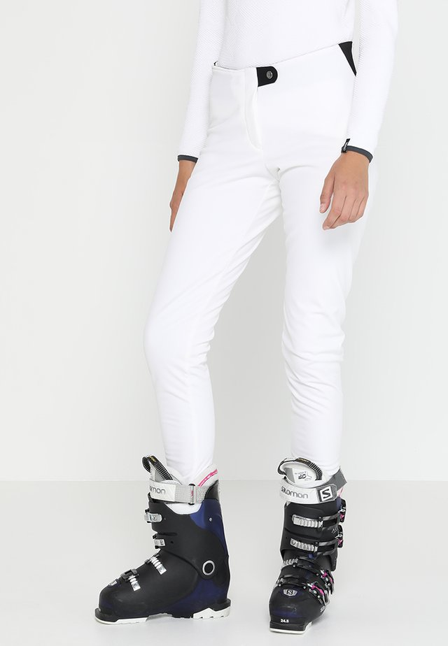 LADIES PANTS - Stoffhose - white
