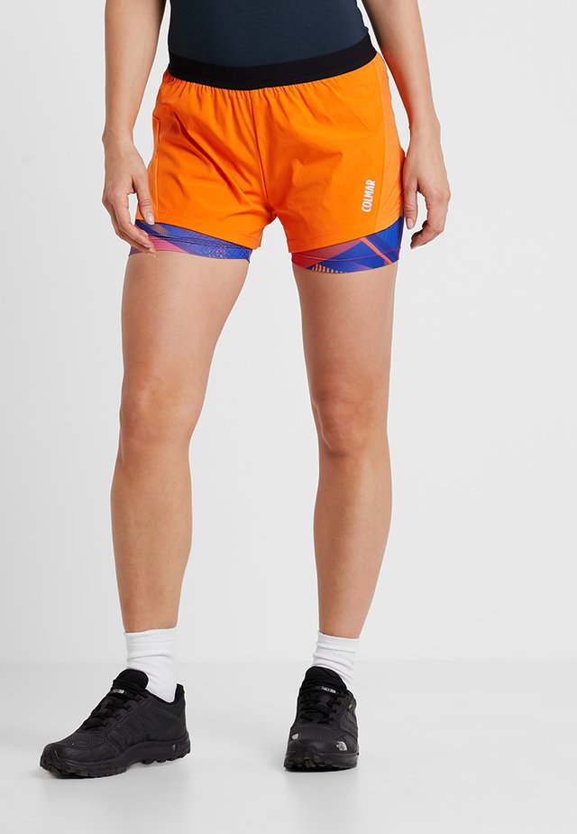 FIT SHORTS - kurze Sporthose - ginger