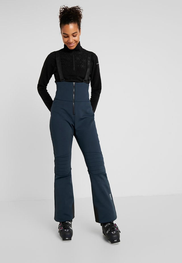 Zimní kalhoty - blue/black