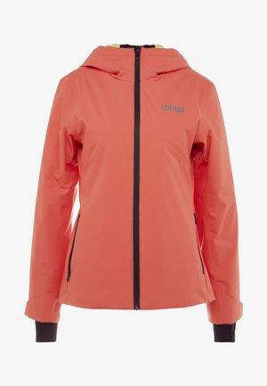 Ski jacket - salmon