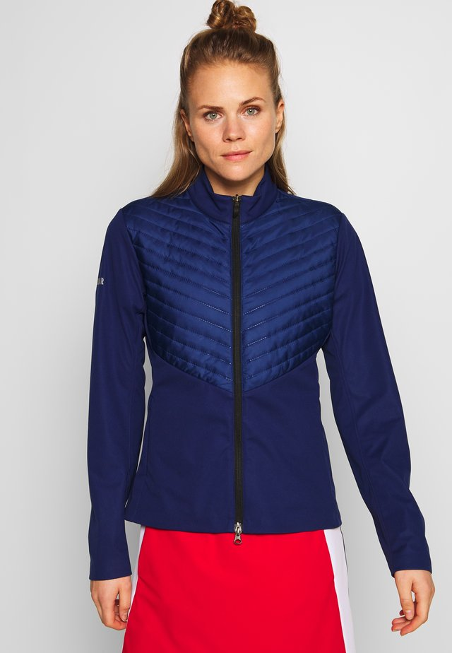 ULTRASONIC - Soft shell jacket - prussian blue