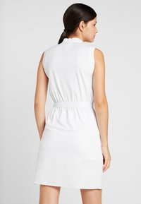 Colmar - DRESS - Jerseykjoler - white - 2