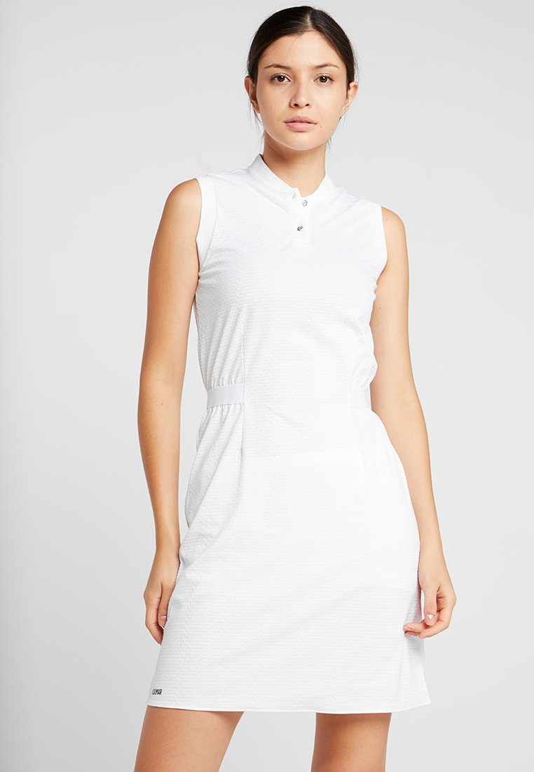 Colmar - DRESS - Jerseykjoler - white